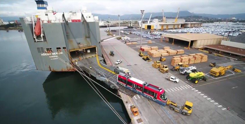 Nuevo servicio de Höegh Autoliners desde LC a Europa y
